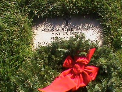 Melissa Rose Barnes gravestone